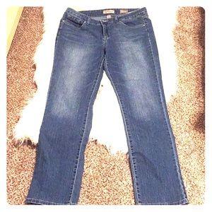 Nine West Vintage America straight leg jeans